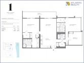1-hotel-residences-3Bed-D1-floor-plan