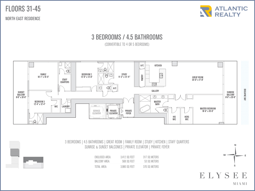 Elysee New Miami Florida Beach Homes
