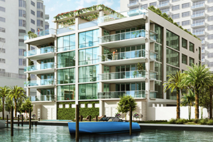 Penthouse in fort lauderdale new constructions