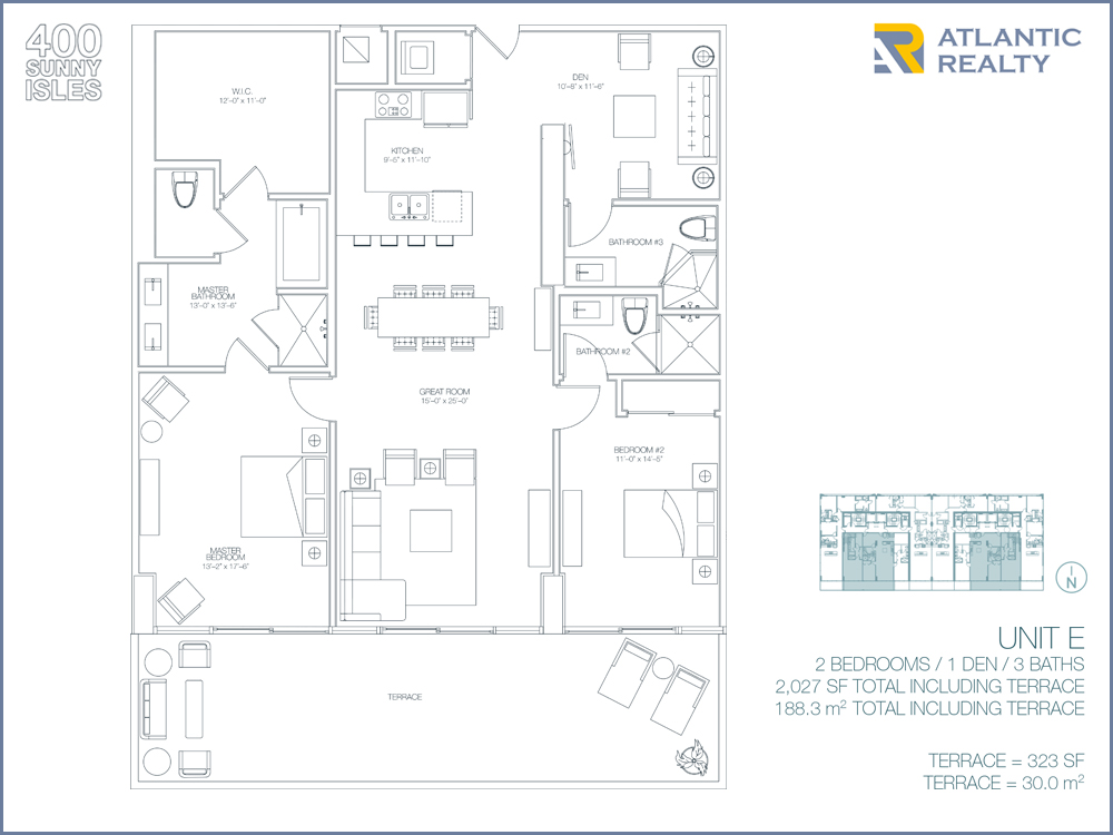 400 Sunny Isles E Floor Plan Beach House Plans Usa 3 On Beach House Plans Usa