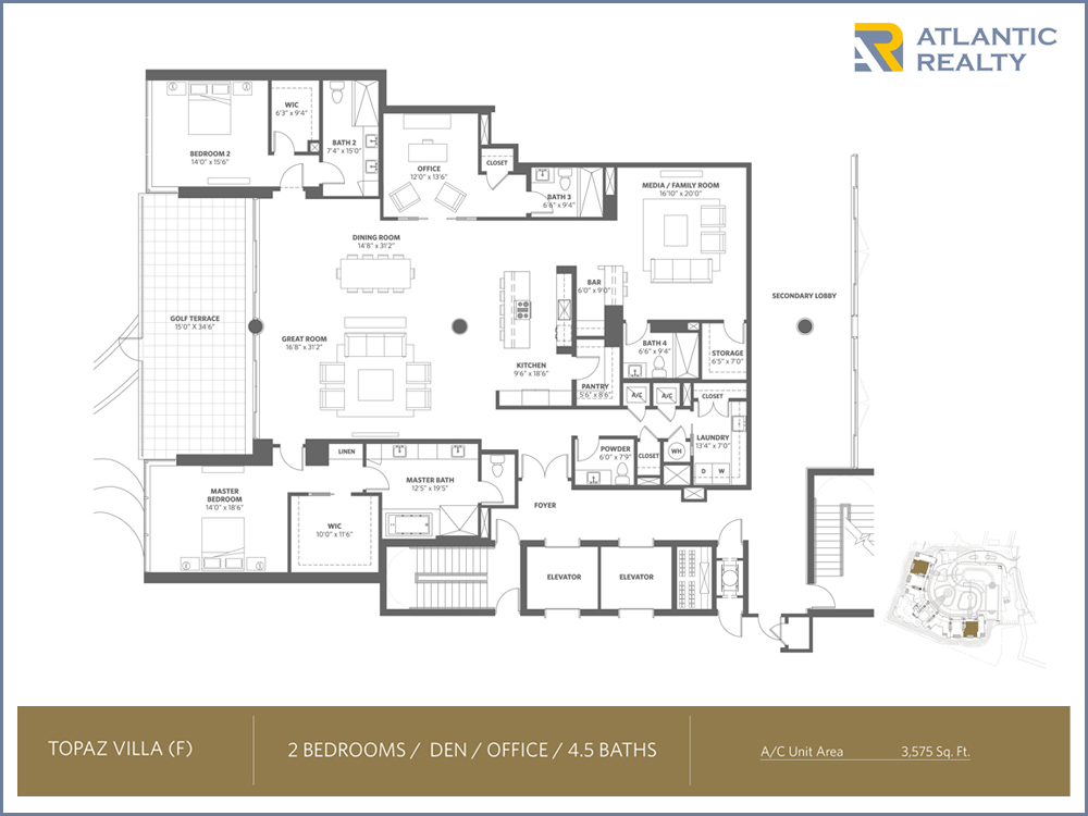 Akoya boca west country club new miami florida beach homes for Floor plans florida