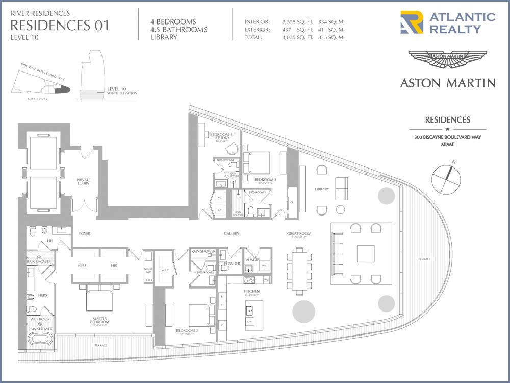 Aston Martin Residences New Miami Florida Beach Homes