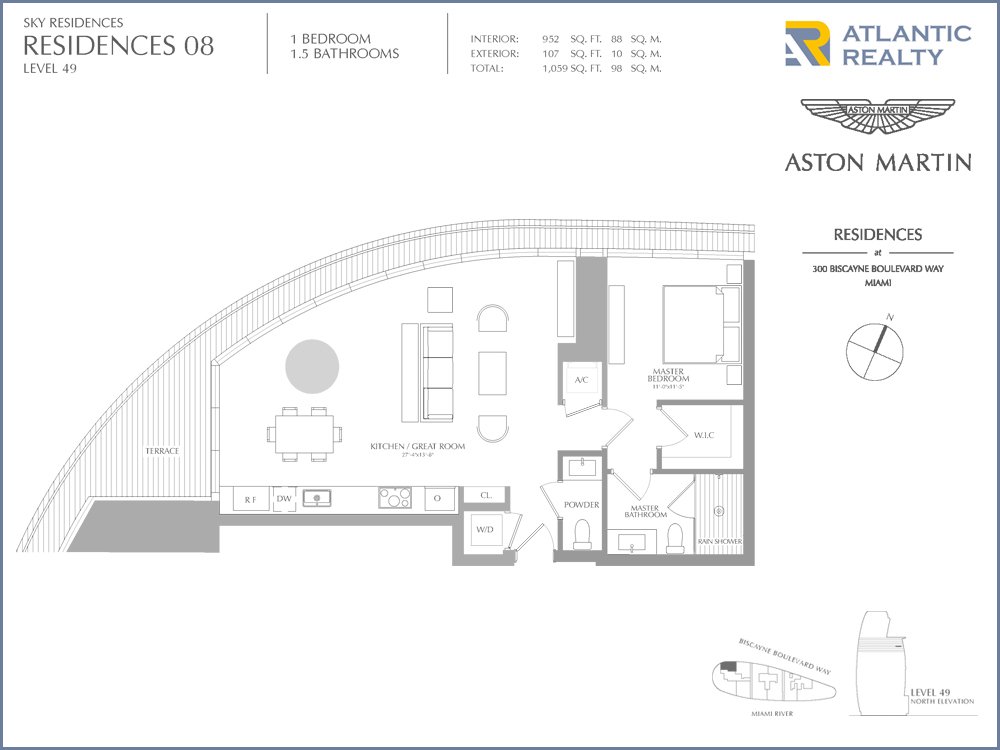 Aston Martin Residences New Miami Florida Beach Homes