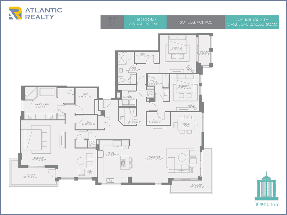 The New Boca Tower 155 New Miami Florida Beach Homes