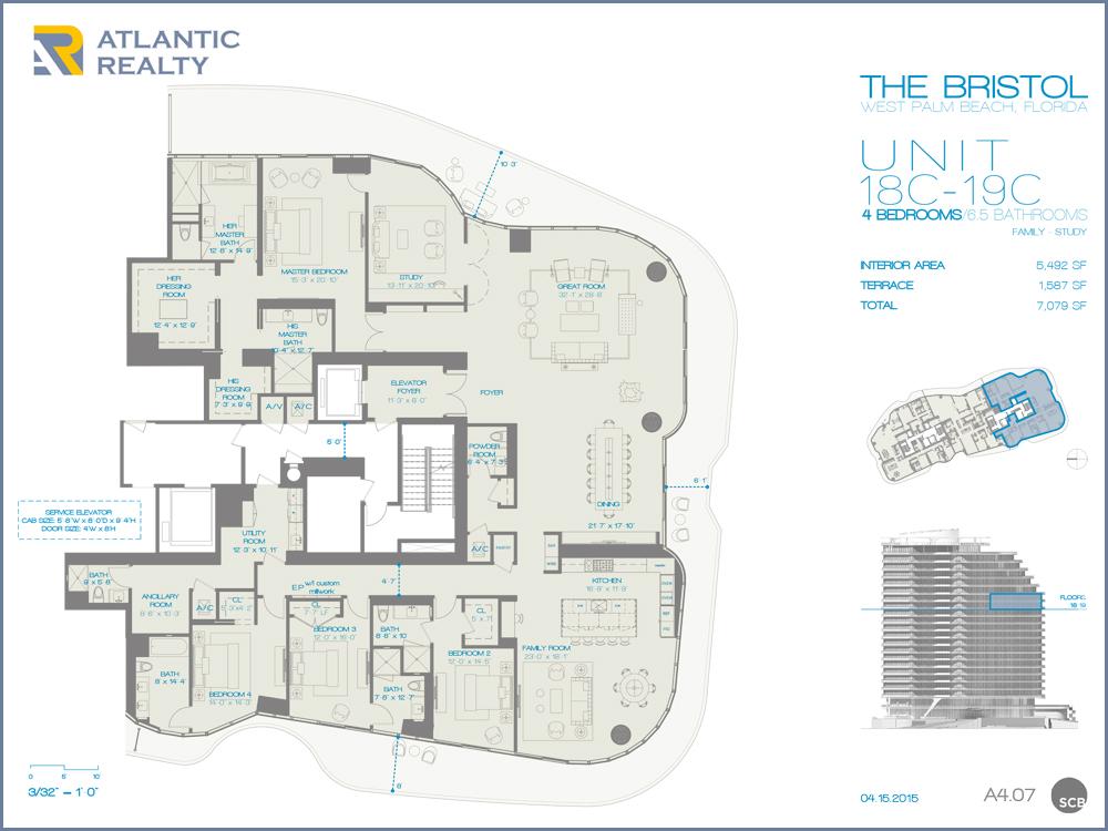 The Bristol Palm Beach New Miami Florida Beach Homes