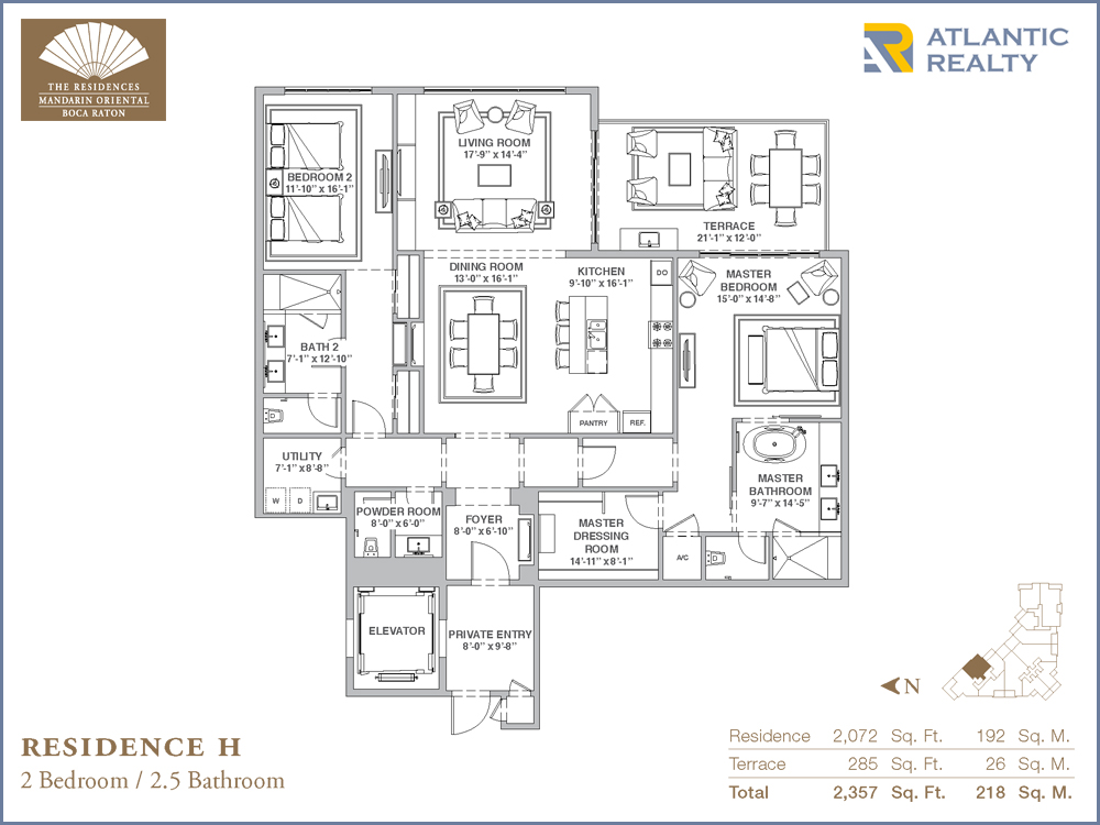 The Residences at Mandarin Oriental New Miami Florida Beach Homes