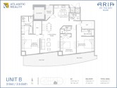 aria-on-the-bay-B-Floor-plan