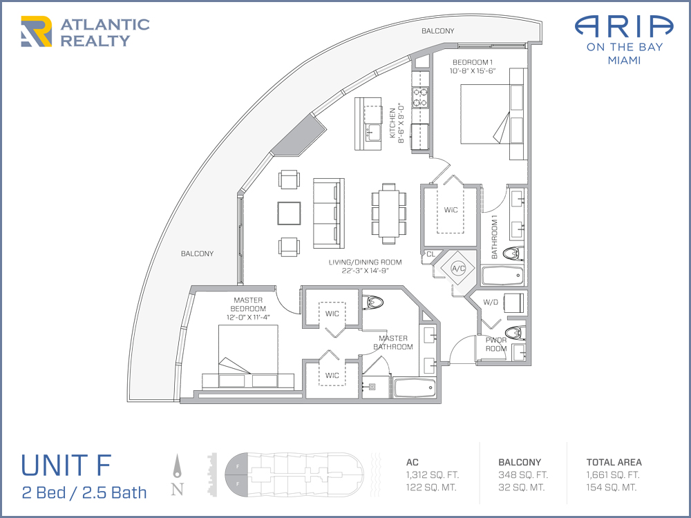 Aria on the bay new miami florida beach homes for Floorplan com