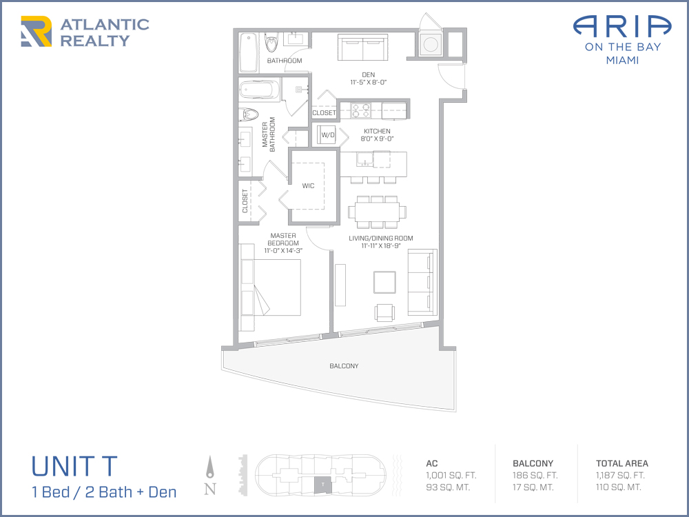Aria on the bay new miami florida beach homes for Bay to beach builders floor plans