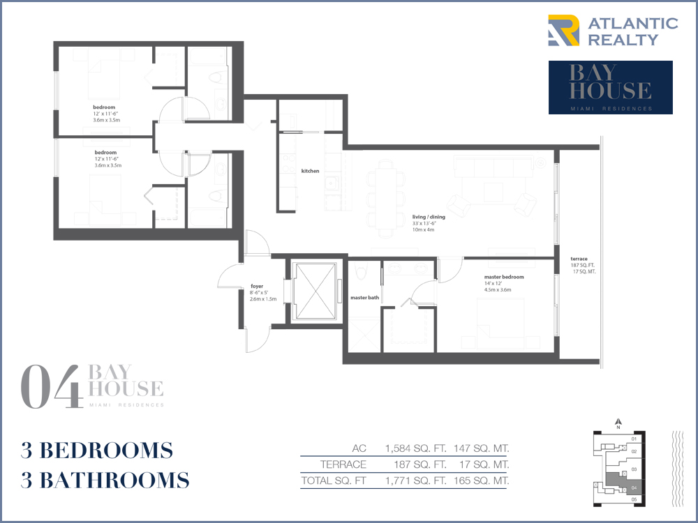Bay house miami floor plans escortsea for Miami mansion floor plans