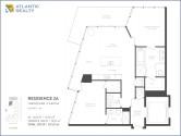 biscayne-beach-east-edgewater-miami-residences-2A-floor-plan