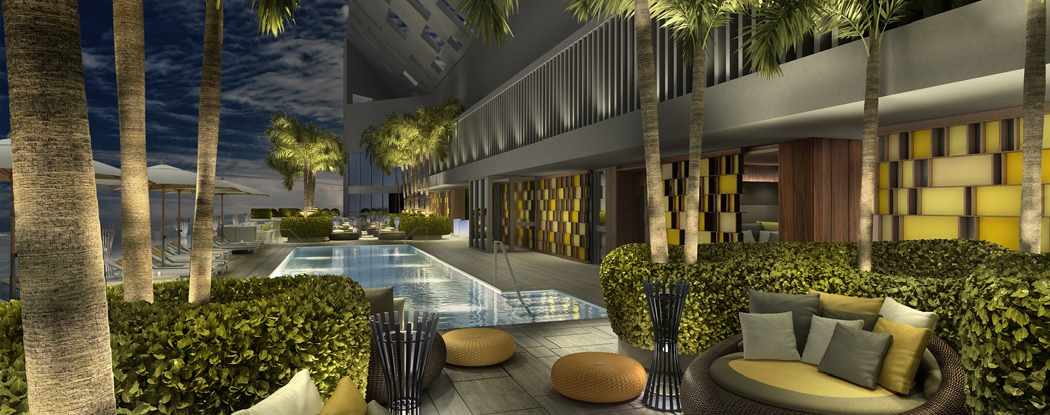 Brickell House Brilliant New Miami Florida Beach Homes
