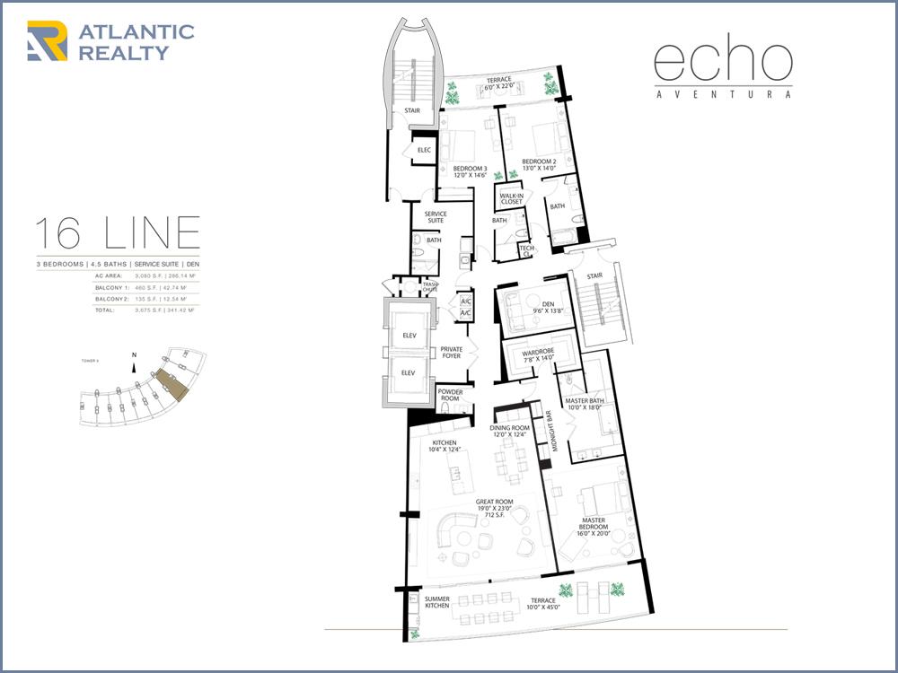 Aventura Isles Floor Plans