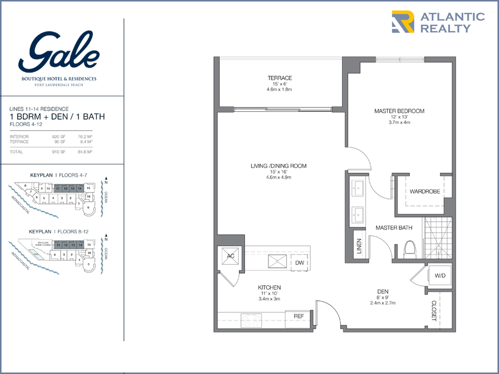 Gale Boutique Hotel Residences FLOOR PLANS