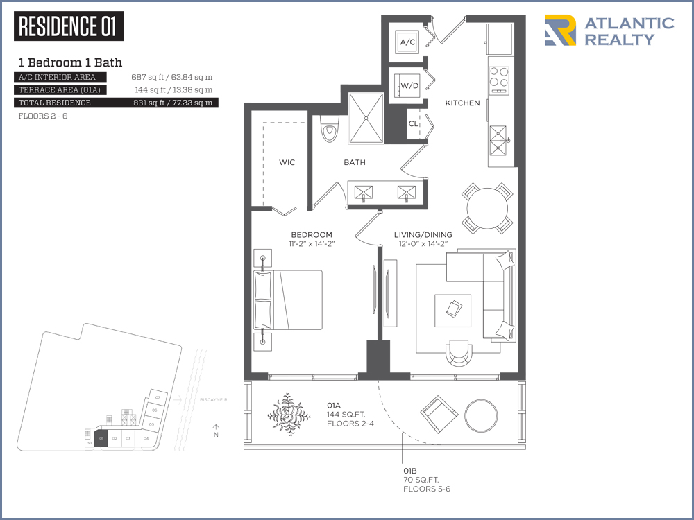 Hyde midtown new miami florida beach homes for Hyde homes floor plans