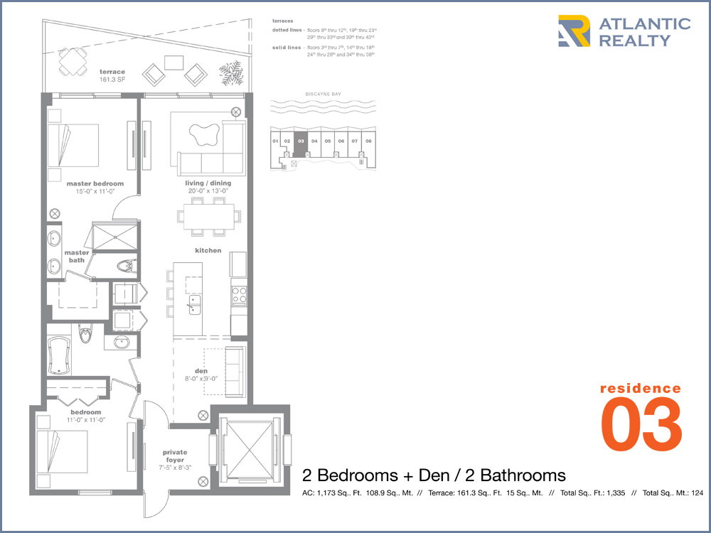 Icon bay new miami florida beach homes for Bay to beach builders floor plans