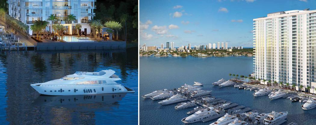 Marina Palms Yacht Club Amp Residences New Miami Florida Beach Homes