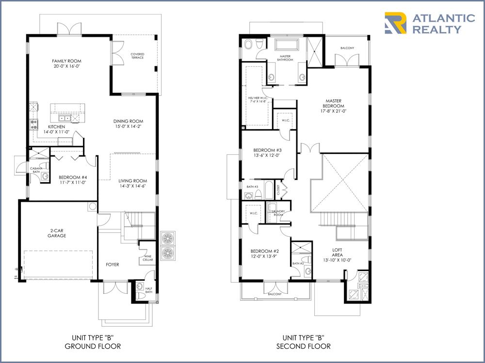 Park square homes floor plans thefloors co for Miami house plans