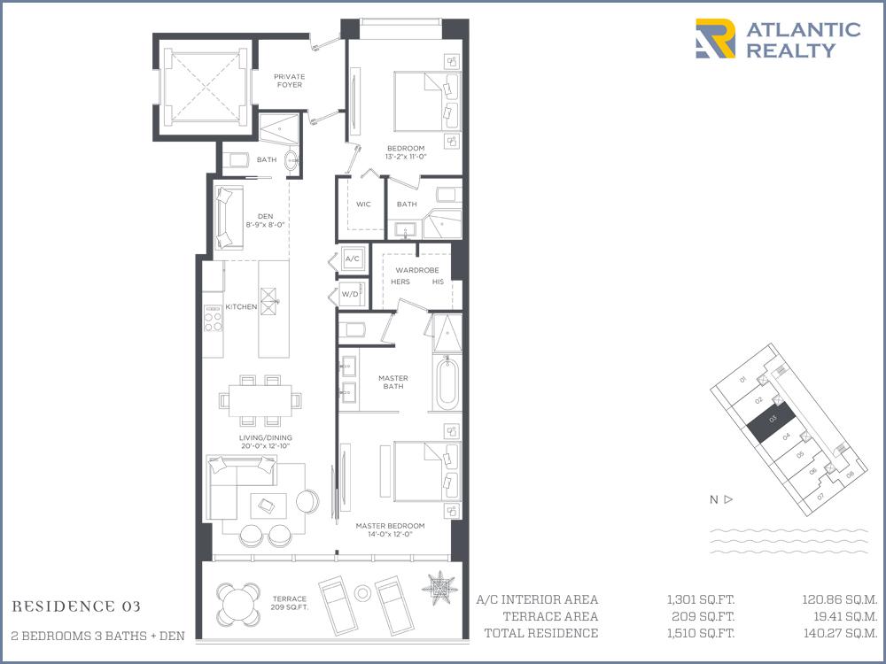 Paraiso bay new miami florida beach homes for Bay house plans