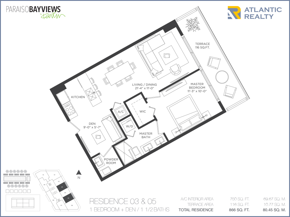 Paraiso bayviews new miami florida beach homes for Bay to beach builders floor plans