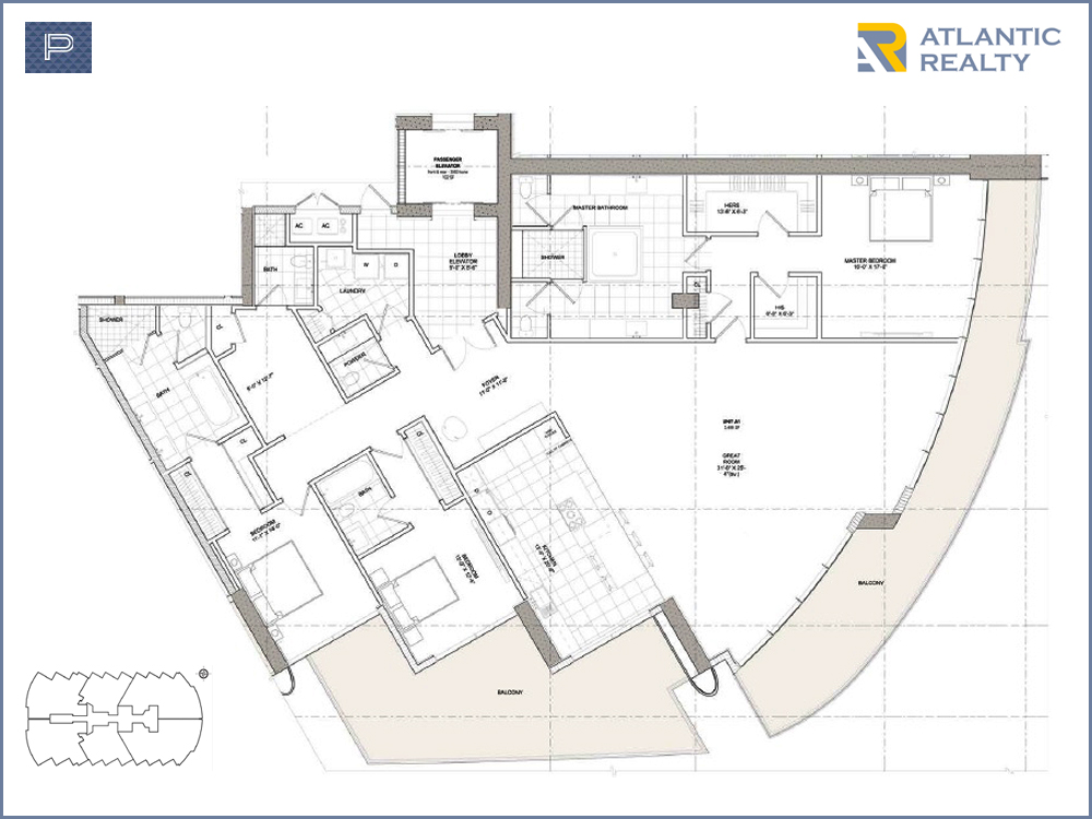 Las Olas Beach Club Floor Plans Bungalow T1f1 102714