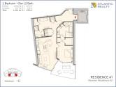 paramount-miami-worldcenter-A1-floor-plan