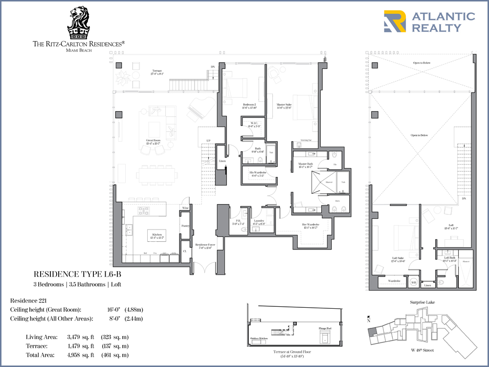 The Ritz Carlton Residences Miami FLOOR PLANS