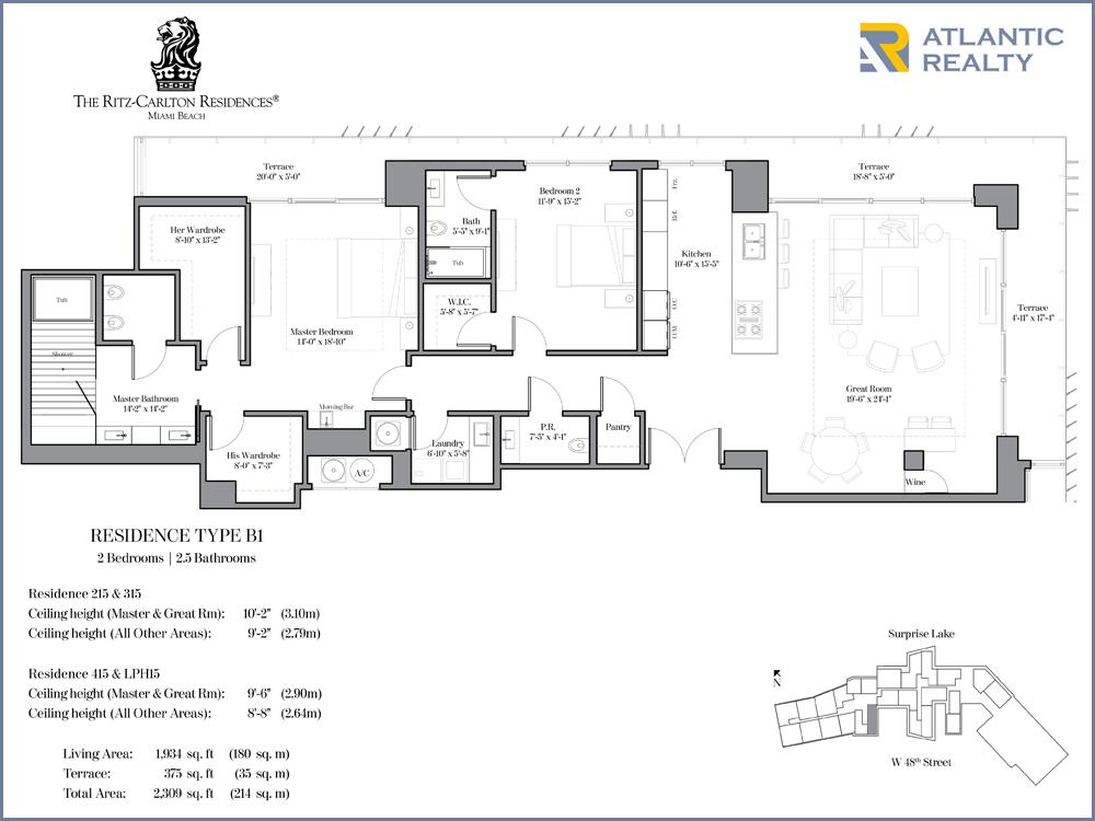 the ritz carlton residences miami new miami florida beach homes the ritz carlton residences miami floor plans