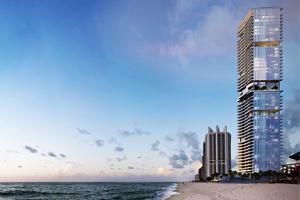 Pre-construction sunny isles beach Penthouse